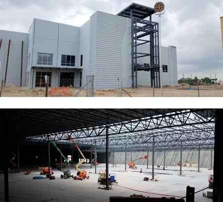 new coca-cola building in construction